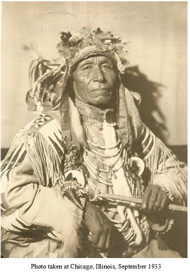 Welch Notes On Back Of Photo Yanktonai Sioux