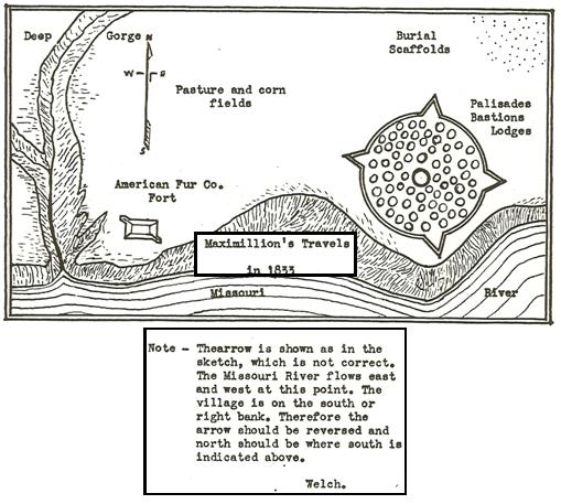 mandan-maximillion-1833-map
